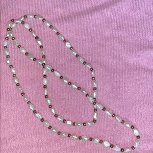 32 in strand freshwater pearls